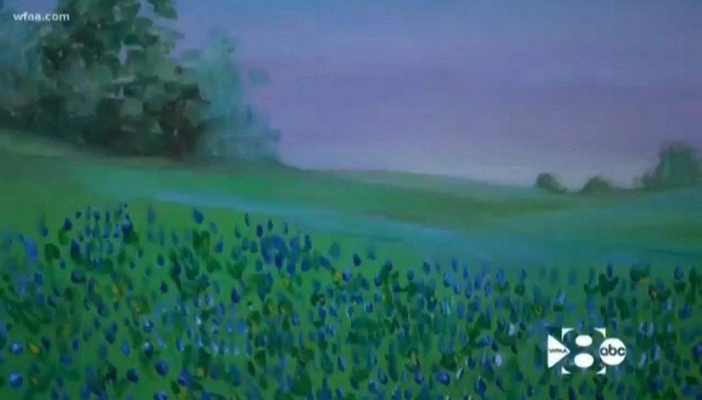 Jeremy Wade Delle drawing landscape