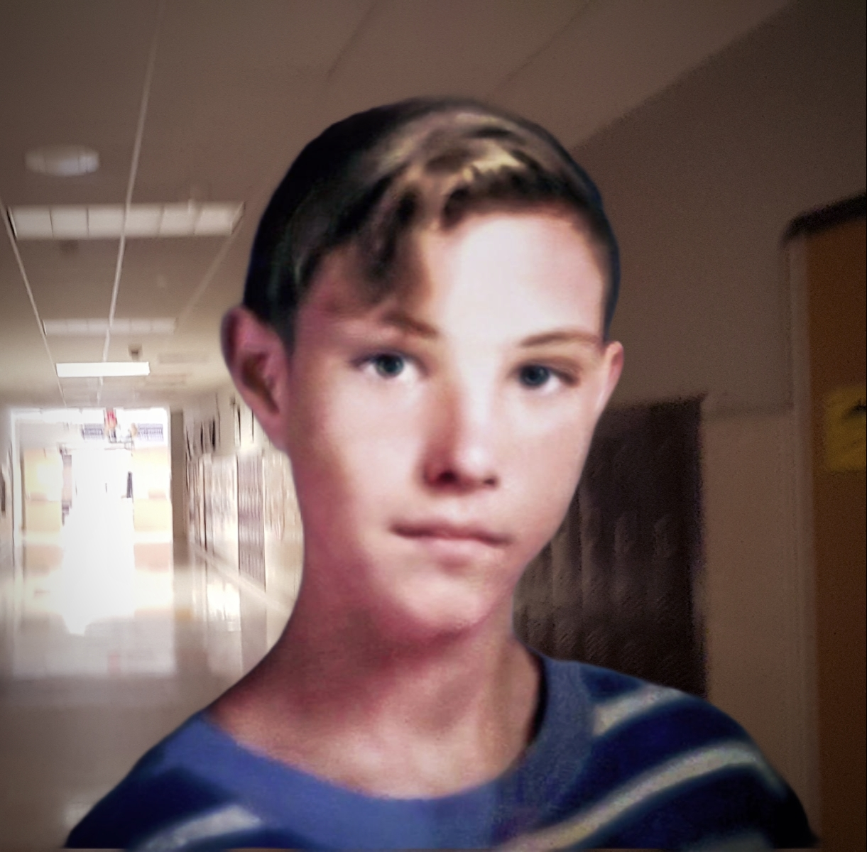 Jeremy Wade Delle Richardson Highschool Hall (photoshop, not real)